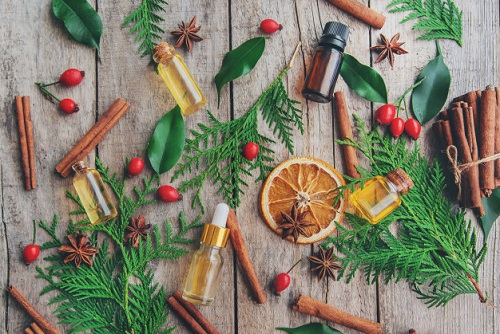 Vianočné éterické oleje