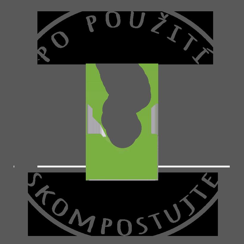 Kompostovateľný produkt