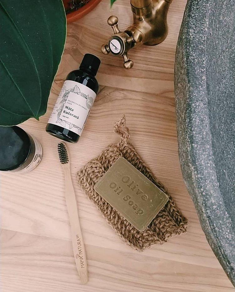 olivové vegánske mydlo