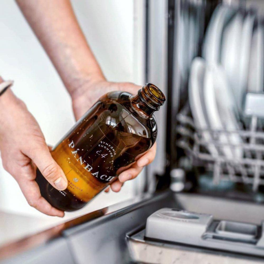 Prírodný vegánsky gél do umývačky riadu