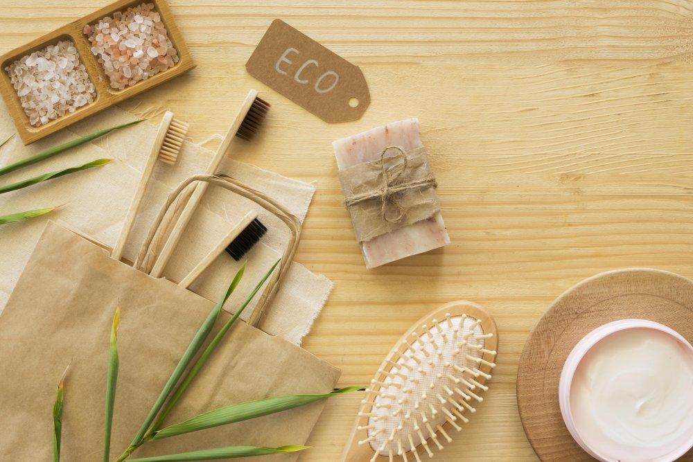 bambusová kefka